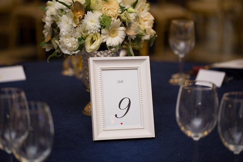 servicii creative nunta numere de masa