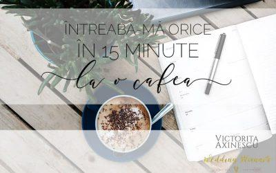 consultanță gratuită, în 15 minute, la o cafea