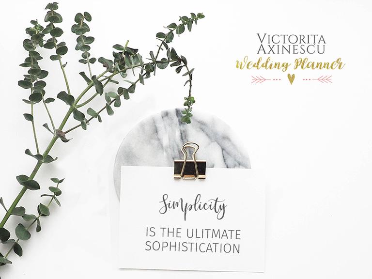 despre simplitate in nunti