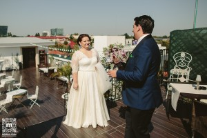 Consultanță pentru nuntă. Terasa Astrodom first look Andreea&Alex