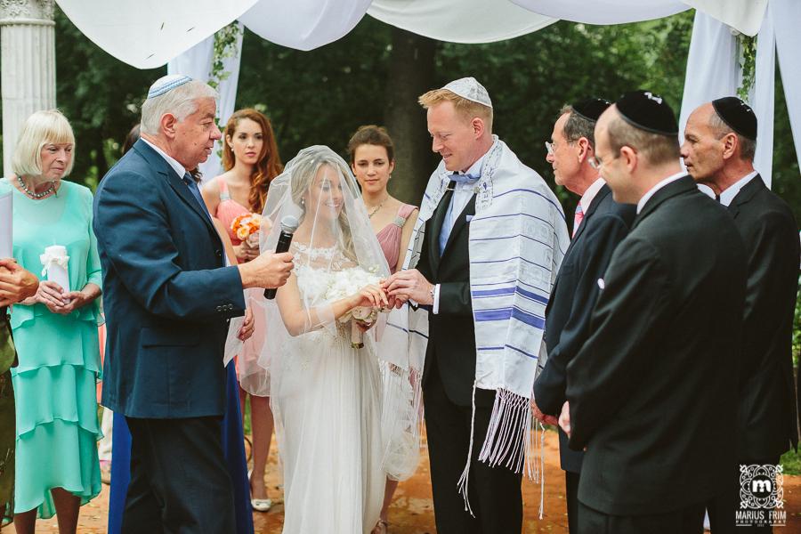 Ceremonie evreiasca - Palaul Bragadiru