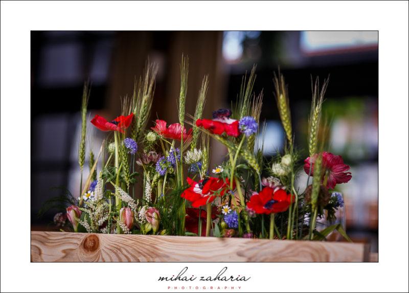 aranjamente florale rustice