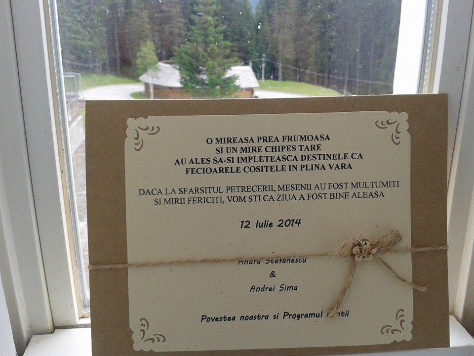 program nunta realizat de mireasa - nunta andra & andrei 011